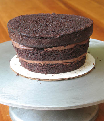 Chocolate Layer Cake | ZoëBakes | Photo by Zoë François