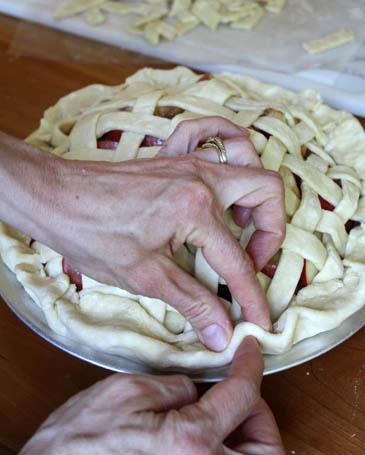 Lattice Pie Crust | ZoëBakes | Photo by Zoë François