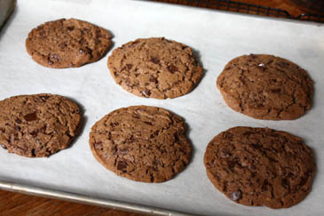 Mocha Chip Cookies Recipe | ZoëBakes | Photo by Zoë François