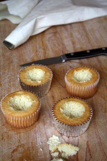 Hollowed out cupcakes   ZoëBakes   Photo by Zoë François