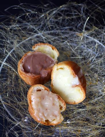 Cream Puffs With a Sugar Nest | ZoëBakes | Photo by Zoë François