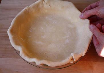 Forming pie crust | ZoëBakes | Photo by Zoë François