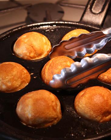 Aebleskivers Recipe | ZoëBakes | Photo by Zoë François