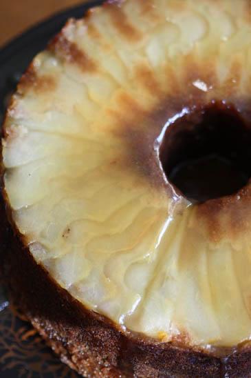 Caramel apple and pear cake recipe | ZoëBakes | Photo by Zoë François