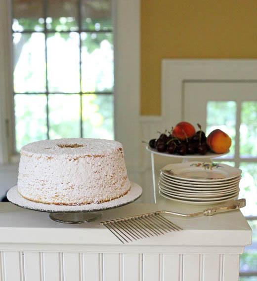 Almond Chiffon Cake | ZoëBakes | Photo by Zoë François