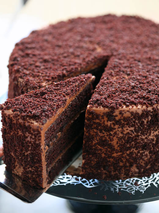 Chocolate Blackout Cake | Photo by Zoë François