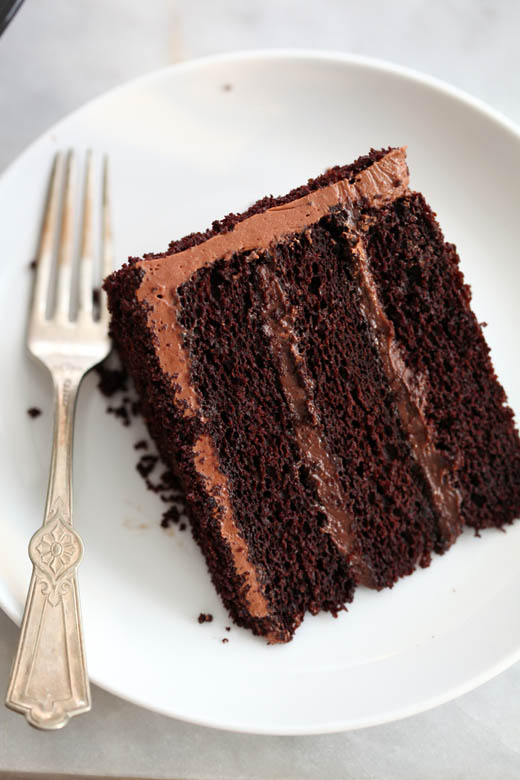 A Slice of Chocolate Blackout Cake | Photo by Zoë François