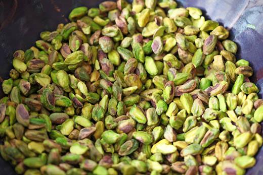 Shelled pistachios | ZoëBakes | Photo by Zoë François