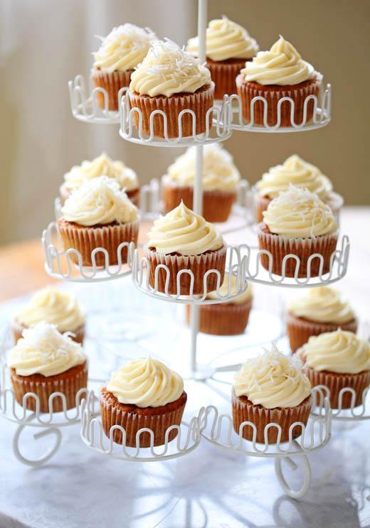 Carrot cupcakes | ZoëBakes | Photo by Zoë François