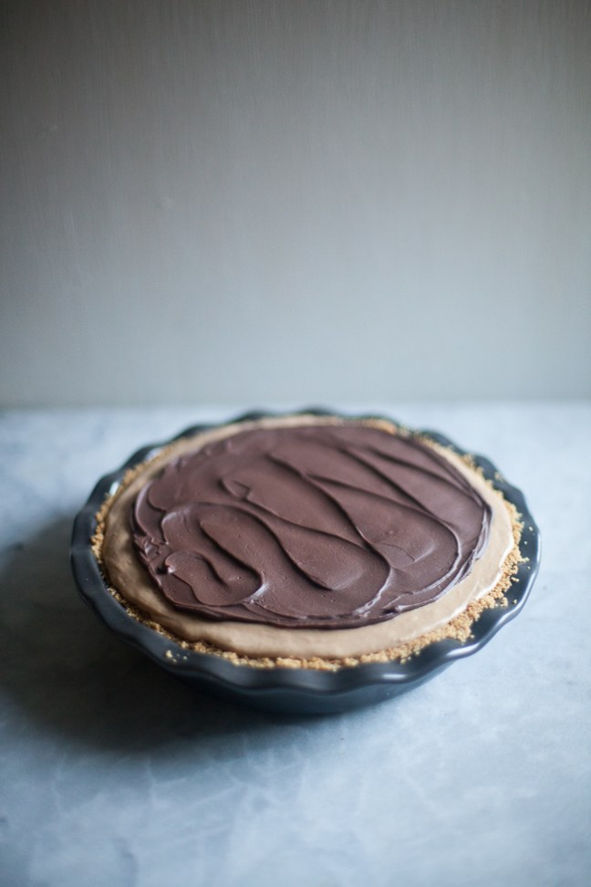 Milk Chocolate Peanut Butter Pie | ZoeBakes photos by Zoë François