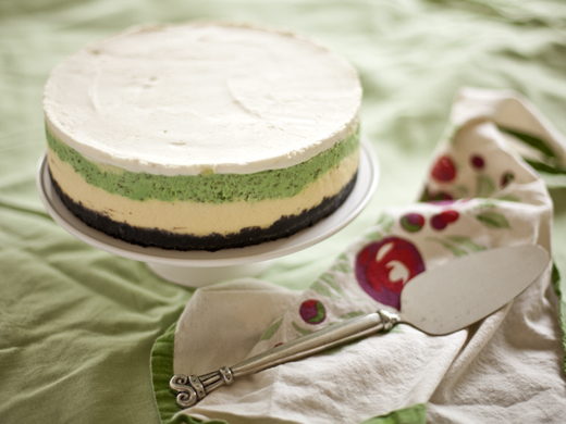Mint cheesecake | ZoëBakes | Photo by Zoë François