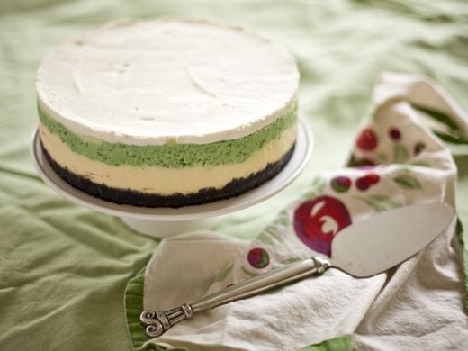Mint cheesecake | ZoëBakes | Photo by Zoë François