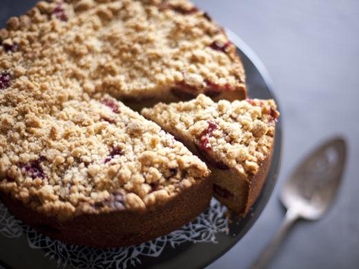 Slice of plum cake | ZoëBakes | Photo by Zoë François