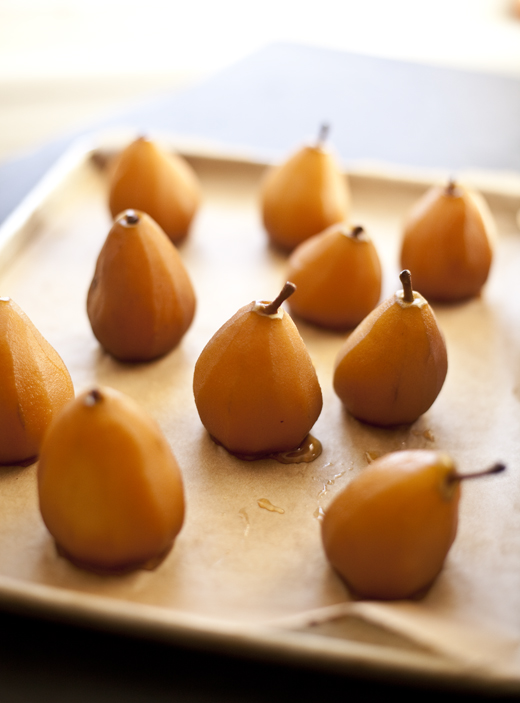 Poached pears | ZoëBakes | Photo by Zoë François