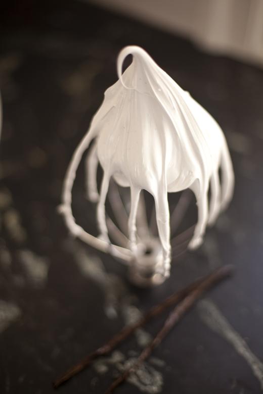 Whipped meringue | ZoëBakes | Photo by Zoë François