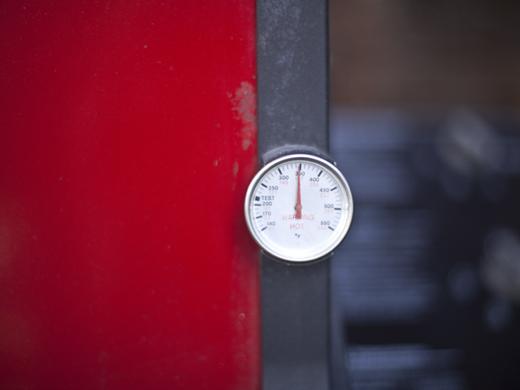 Preheating a gas grill | ZoëBakes | Photo by Zoë François