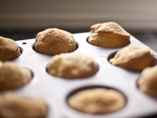 Baked Onion Tarts in a Muffin Tin   ZoëBakes   Photo by Zoë François