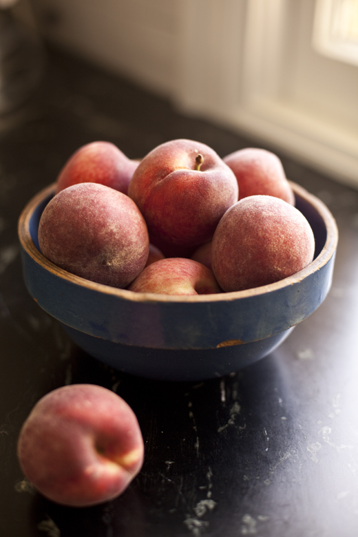 Angel Food and Peaches | ZoeBakes