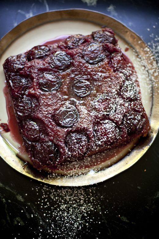 Black Velvet Apricot Upside Down Cake (Gluten-Free Version included) | ZoëBakes | Photo by Zoë François