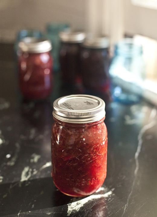 Rhubarb-Orange Jam Recipe | ZoëBakes | Photo by Zoë François