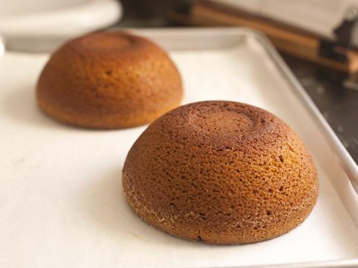 Two Baked Pumpkin Cakes | ZoëBakes | Photo by Zoë François