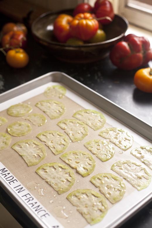 Tomato Chips Recipe | ZoëBakes | Photo by Zoë François