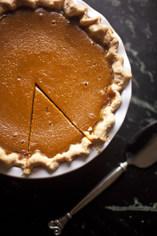 Caramel Apple Pumpkin Pie Recipe | ZoeBakes | Photo by Zoë François