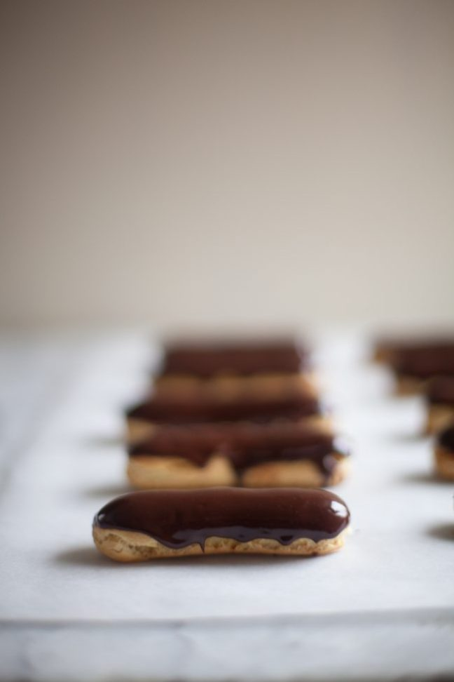 Eclairs | Photo by Zoë François