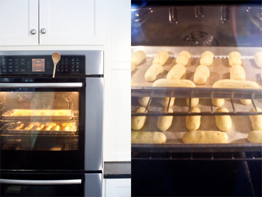 Baking Choux Pastry | How to Make Eclairs | Photo by Zoë François