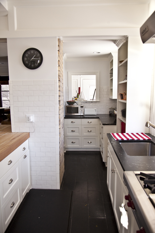 my kitchen remodel before and after | ZoeBakes photo by Zoë François