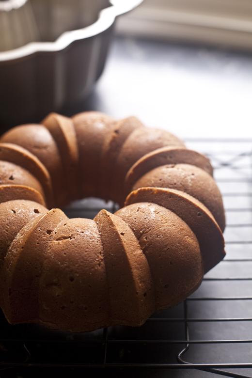 Honey Whiskey Apple Cake | ZoeBakes | Zoë François