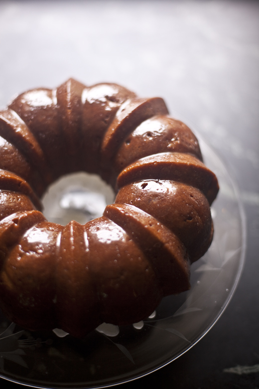 Honey Whiskey Apple Cake | ZoeBakes | Zoë François