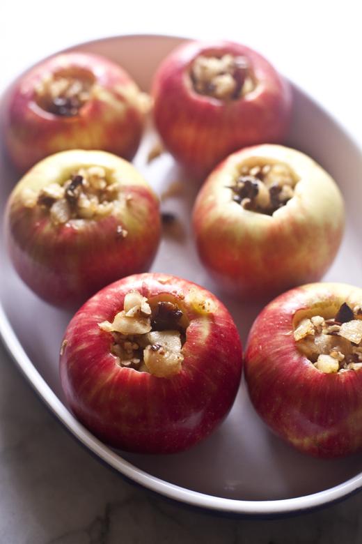 Paleo Stuffed Apple | ZoeBakes 04