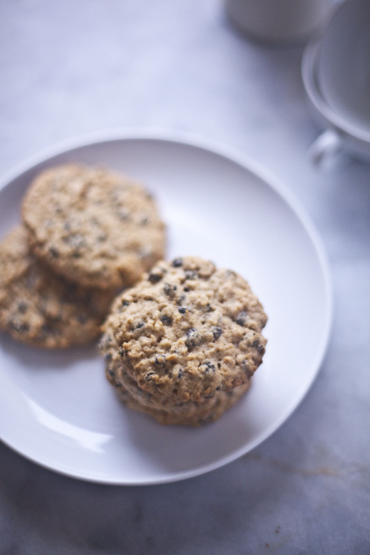 Plate of gluten-free oatmeal cookies   ZoëBakes   Photo by Zoë François