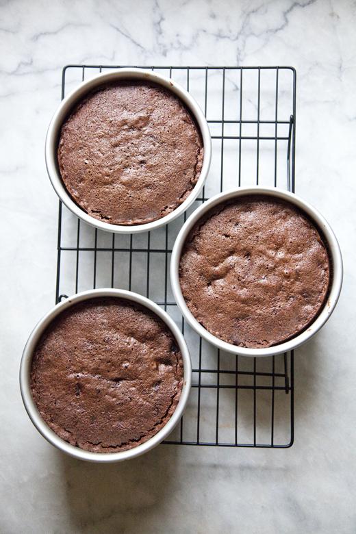 Chocolate Cherry Cake | ZoeBakes | Photo by Zoë François