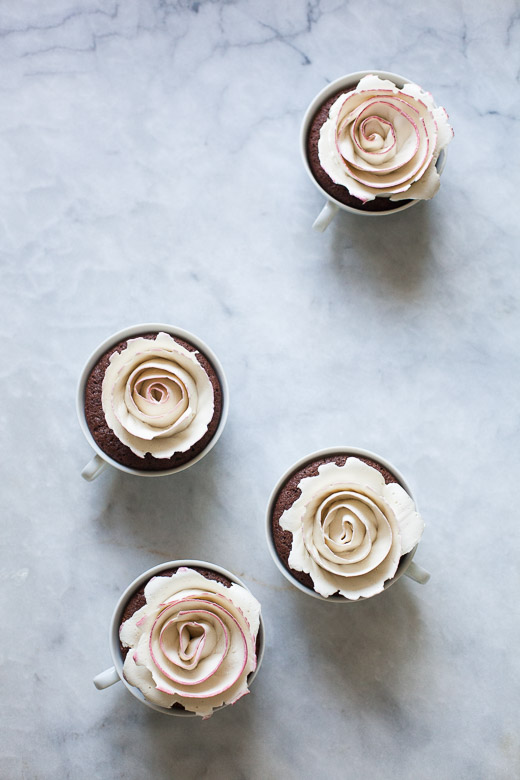 Tea Cup Rose Cakes | ZoeBakes (4 of 21)