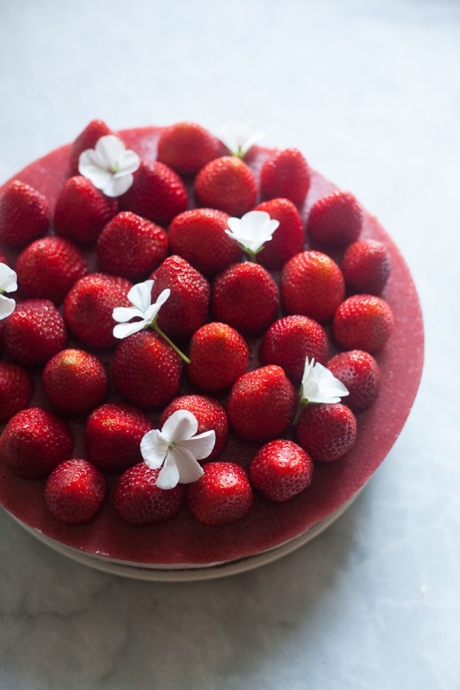 no bake strawberry cheesecake (8 of 4)