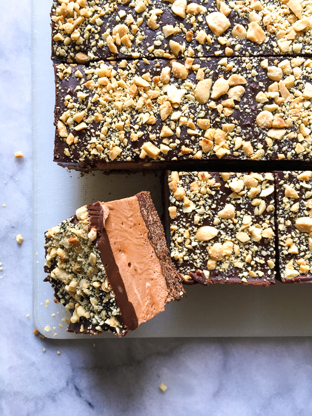 Chocolate Mousse Bars with Feuilletine Crunch | Photo by Zoë François