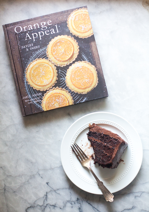 Special Chocolate Orange Cake from Orange Appeal by Jamie Schler | Photo by Zoë François