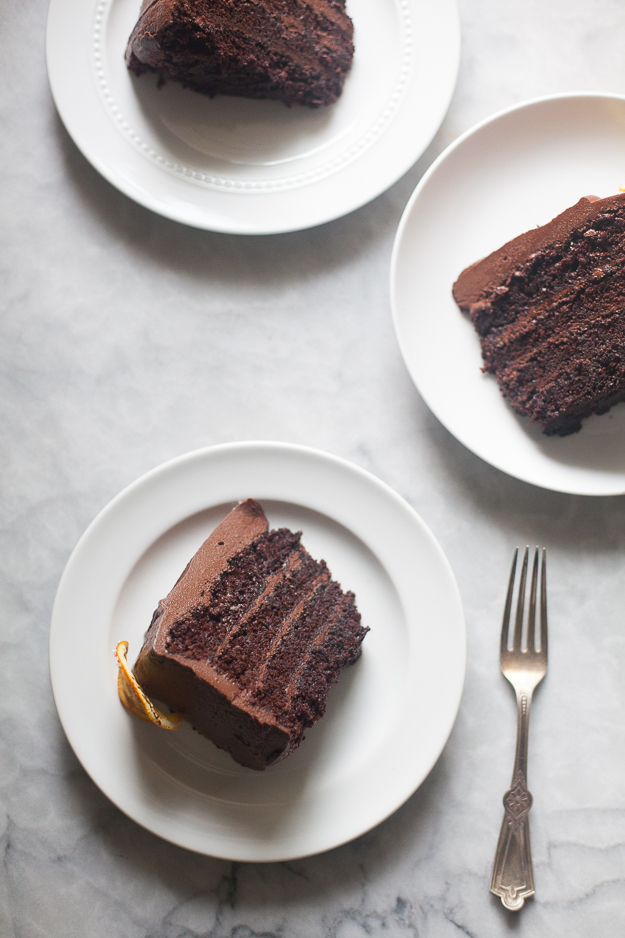 Special Chocolate Orange Cake | Photo by Zoë François