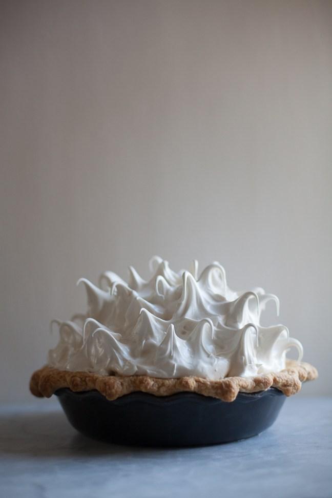 Lemon Honey-Meringue Pie | Photo by Zoë François