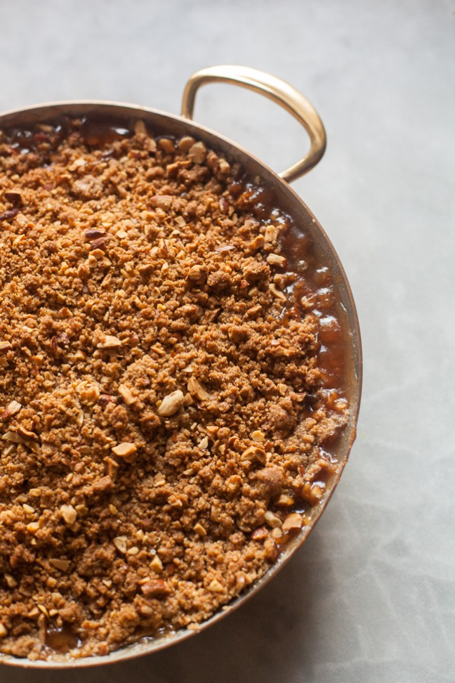 Awesome Apple Almond Crisp | ZoeBakes photos by Zoë François