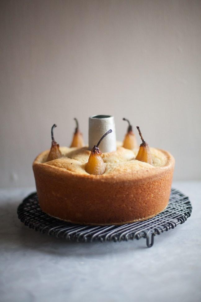 Cardamom Pear Cake | ZoeBakes photo by Zoë François