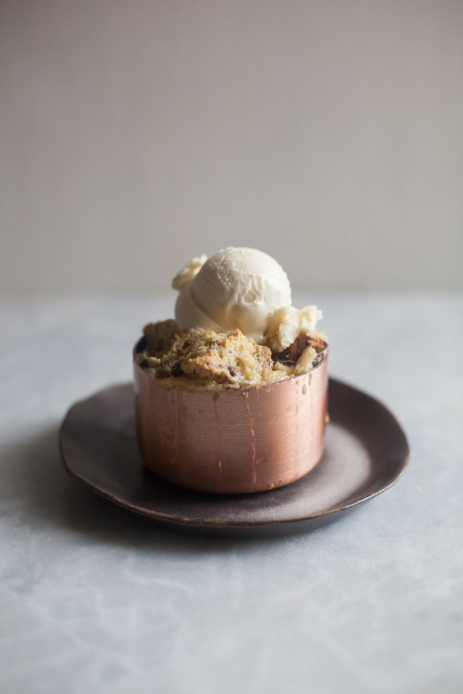 Chocolate Chestnut Bread Pudding | ZoeBakes photo by Zoë François