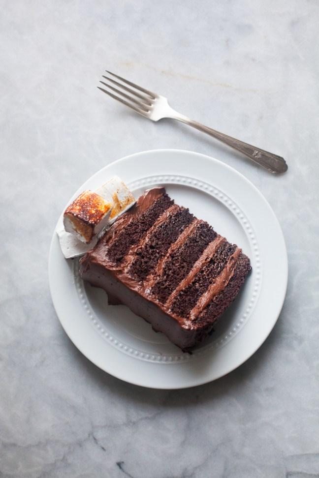 Hot Chocolate Cake | ZoeBakes photo by Zoë françois