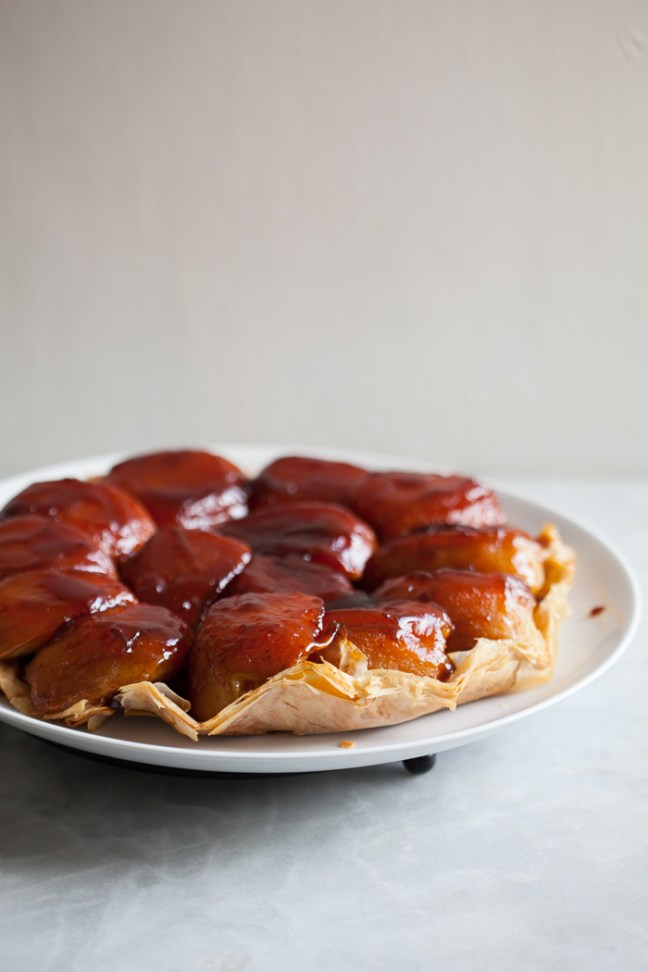 Apple Tarte Tatin | ZoeBakes photos by Zoë François