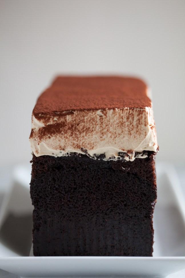 Simple Chocolate Cake | ZoeBakes photo by Zoë François