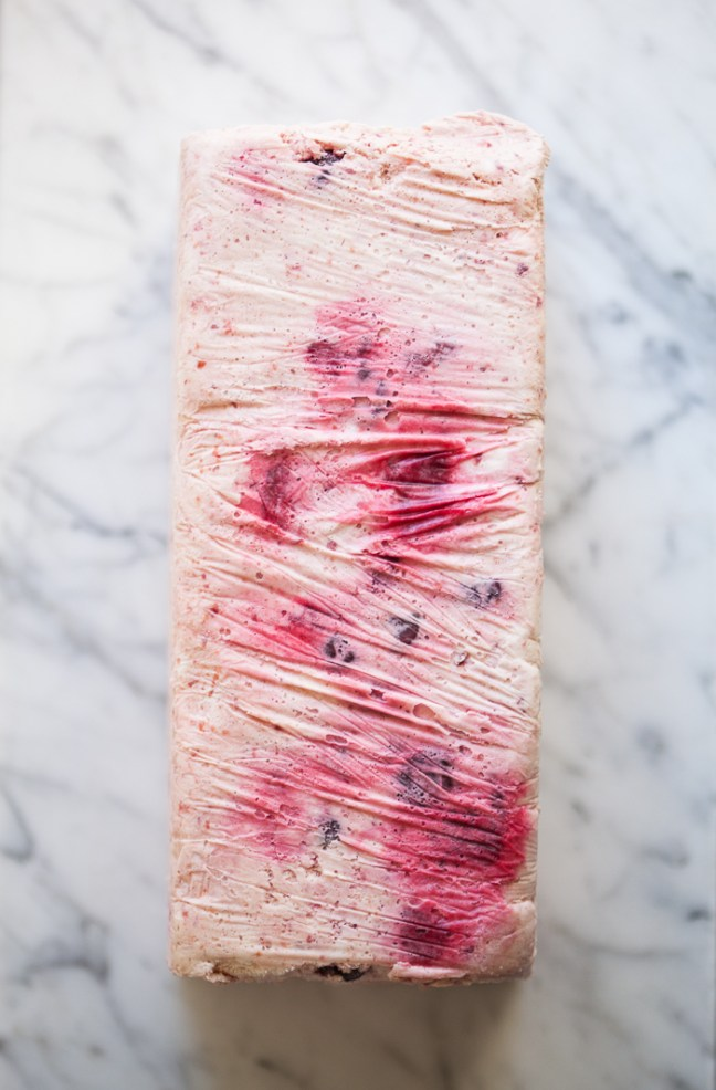 Cherry Semifreddo | ZoeBakes photo by Zoë François