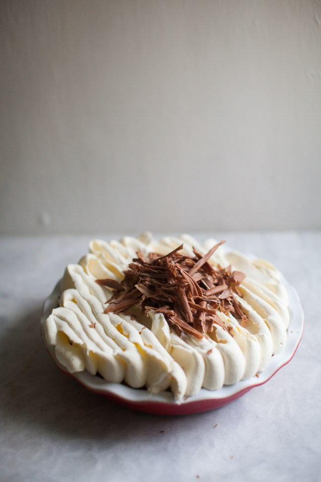 Banana Cream Pie | ZoeBakes photo by Zoë François