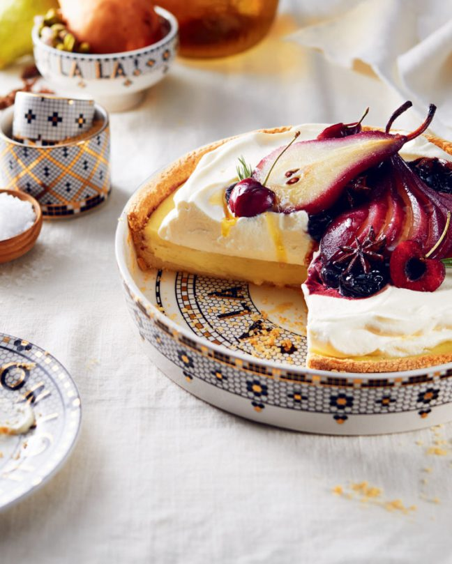 Anthropologie Catalog Tart Photo | ZoeBakes photo by Amy Batog